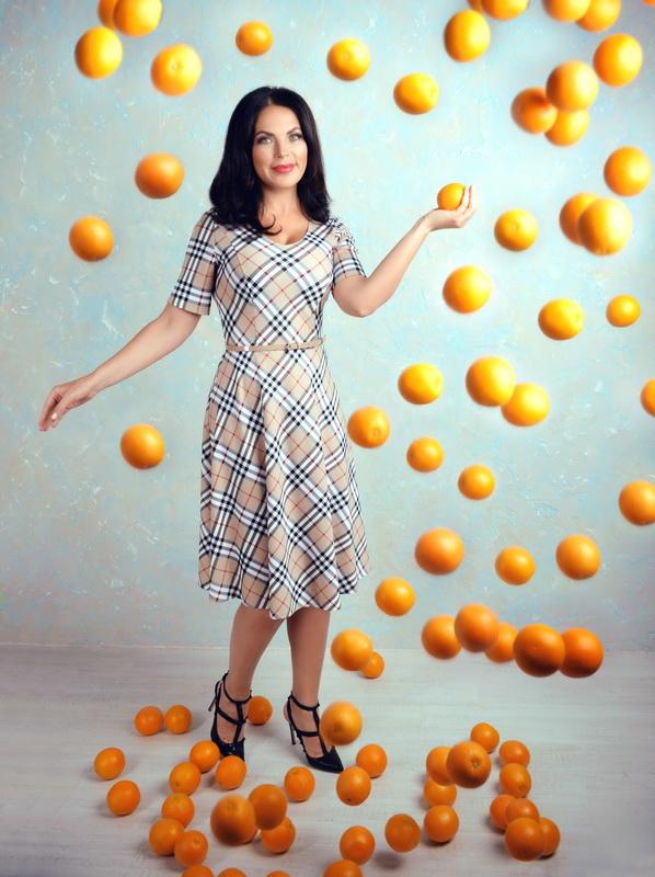 фото лада литовченко в апельсинах