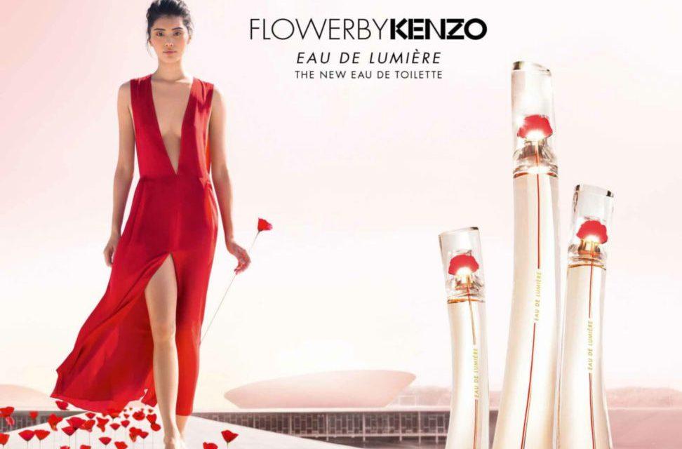 """постер аромата Kenzo """"Flower by Kenzo Eau de Lumiere"""""""
