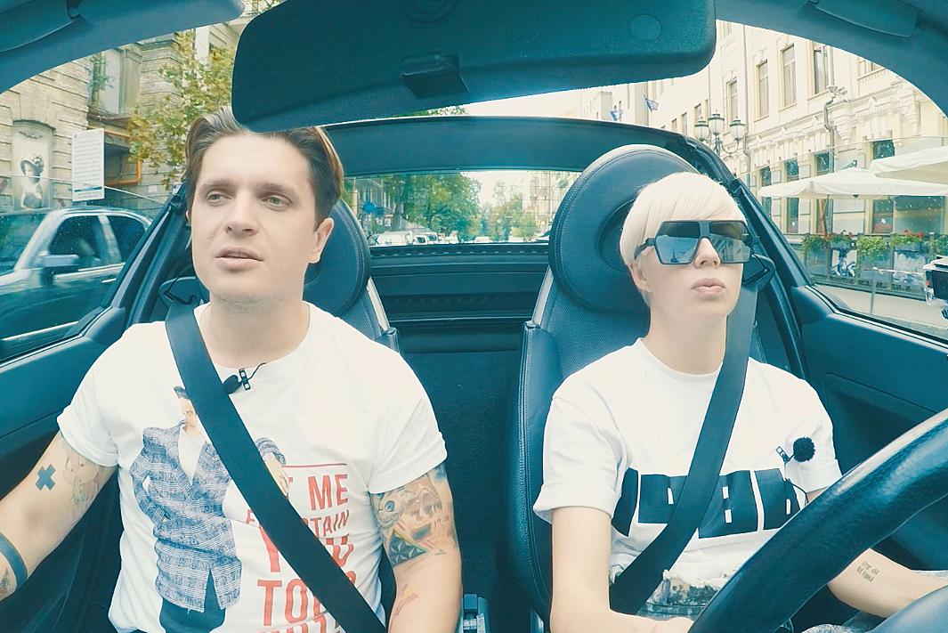 ONUKA и Анатолий Анатолич в машине фото