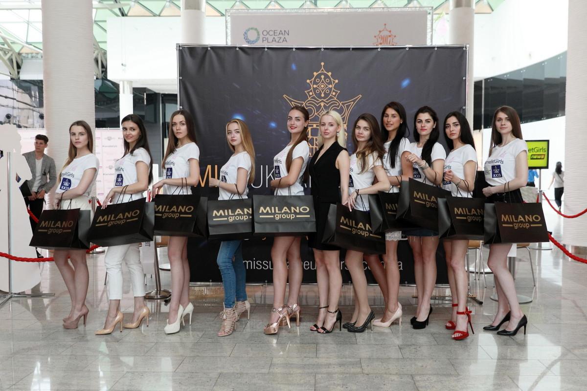 участницы кастинга «Мисс Украина Вселенная»