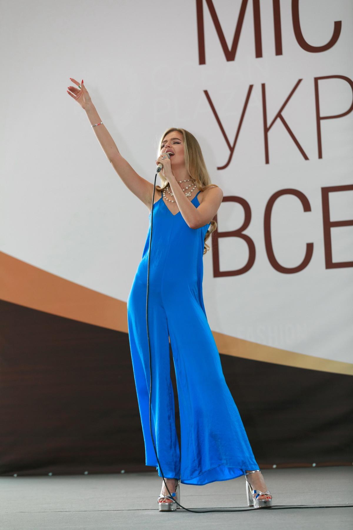Яна Брилицкая выступление на кастинге мисс украина вселенная 2017