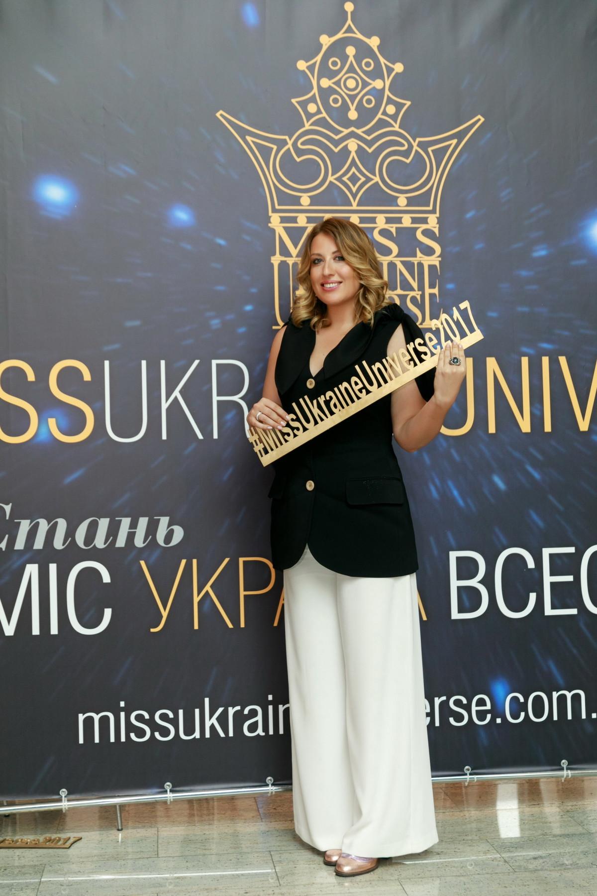 Глава Оргкомитета конкурса «Мисс Украина Вселенная» Анна Филимонова