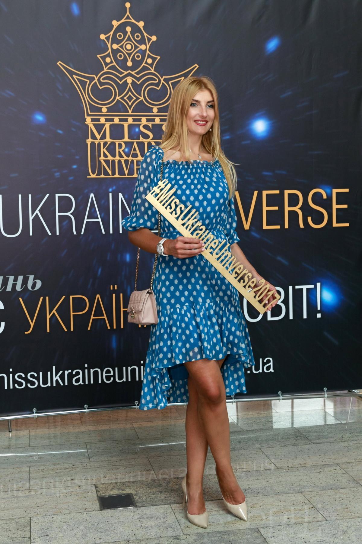 Татьяна Туча на кастинге Miss Ukraine Universe 2017 фото