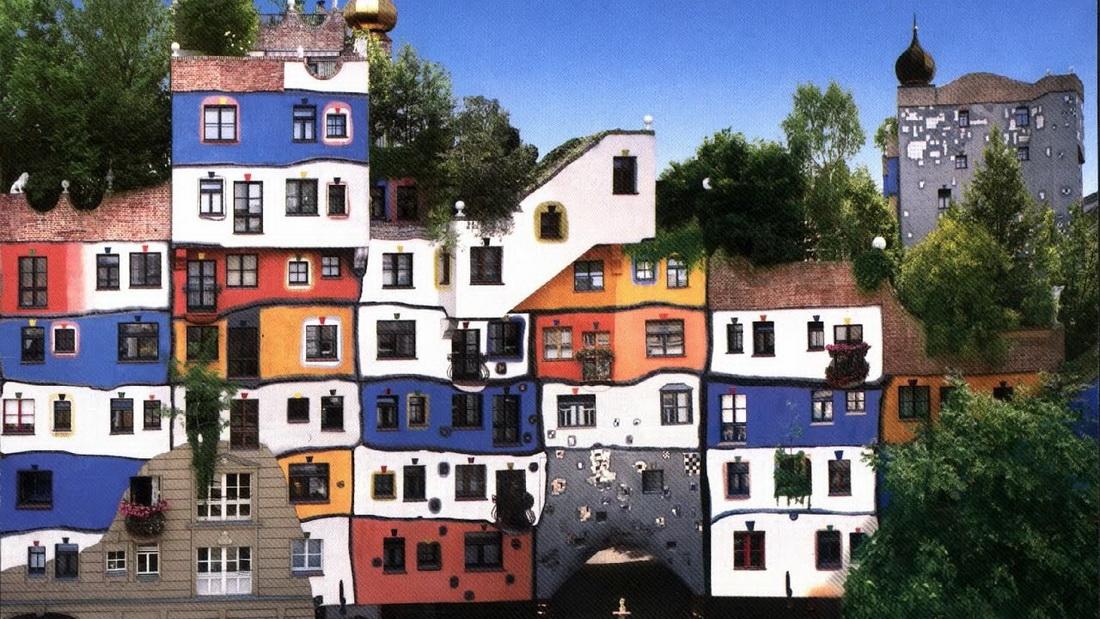фото дом хундертвассера