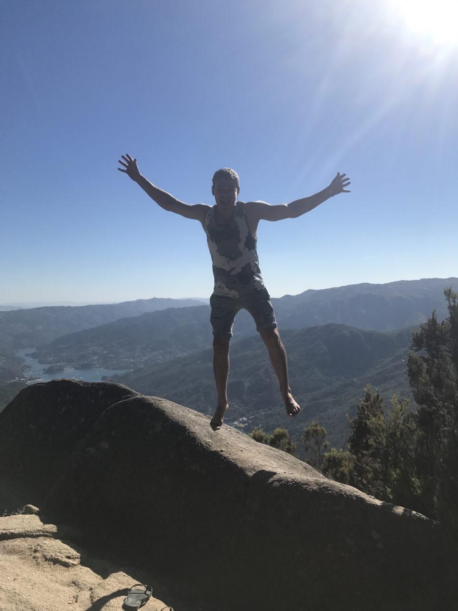 фото арсен мирзоян в горах португалии