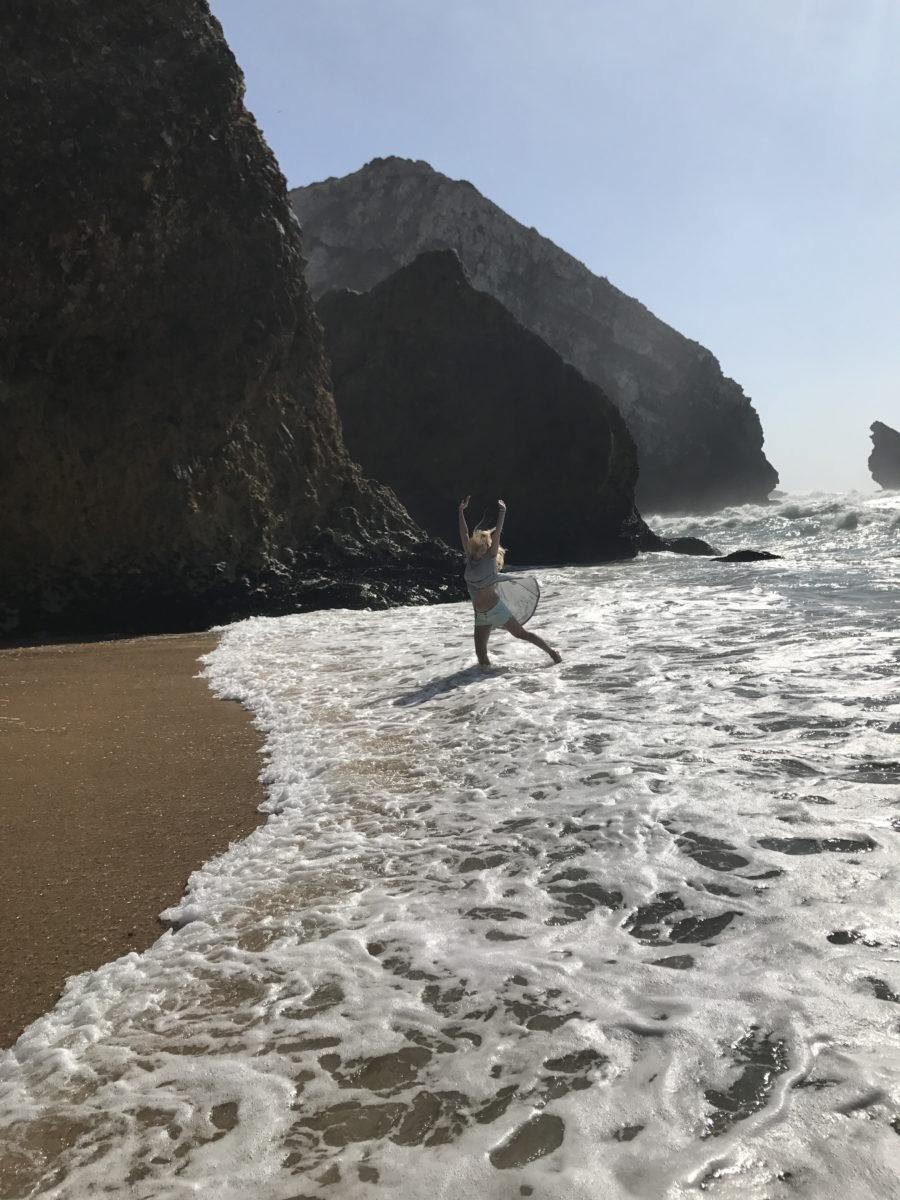 антонина матвиенко на берегу океана португалия фото