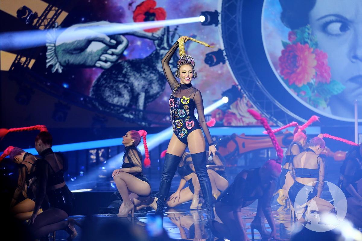 """выступление Оли Поляковой на """"Мисс Украина 2017"""" фото"""