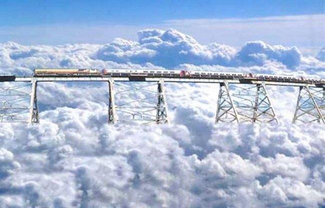 Железная дорога Tren a las Nubes фото