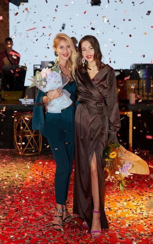 Елена Подтопта и Мария Яслинская презентация коллекции брендов Fall-Winter 2017-18 фото