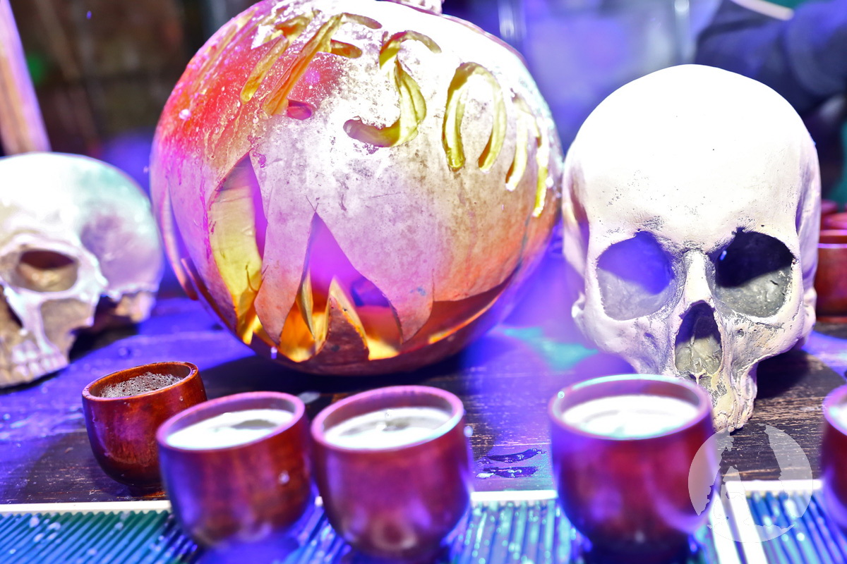 хэллоуин череп и тыква фото