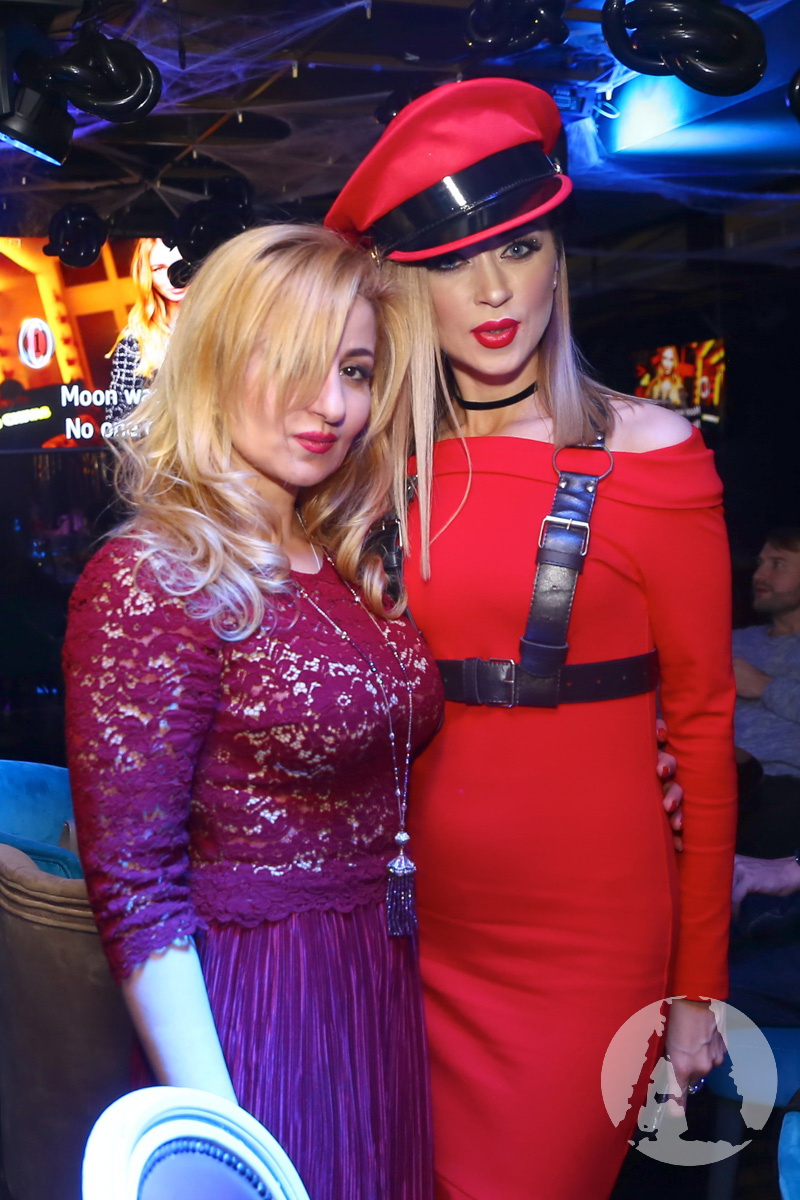 фото Жанны Арутюновой и Натальи Валевской ресторан Сейф