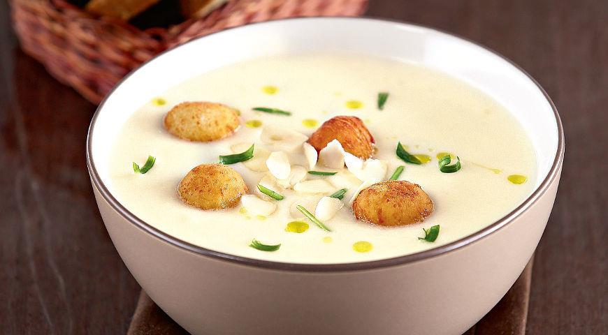 foto rрем-суп из цветной капусты