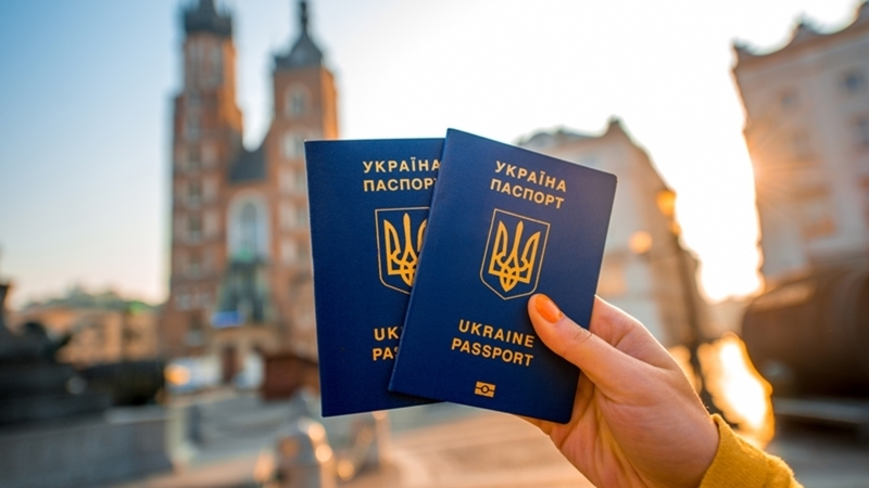 загранпаспорт украины фото