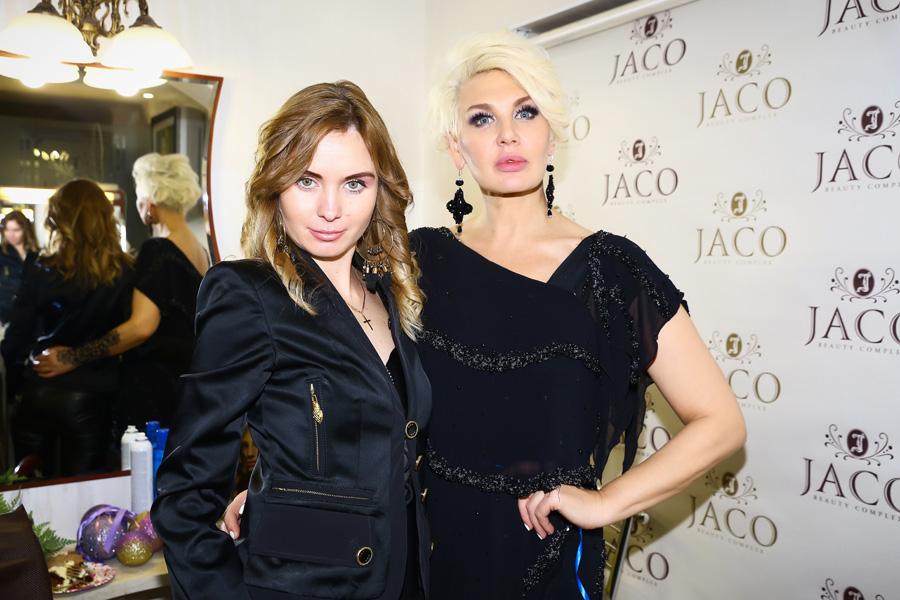 """фото Светланы Вольновой на юбилее салона красоты """"Jaco"""""""