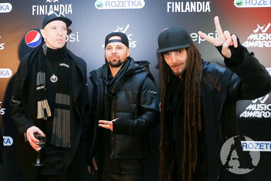 фото группа Грин Грей на M1 Music Awards III Элемент