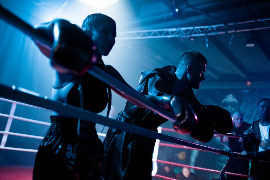 тамерлан и алена омаргалиева на боксерском ринге фото
