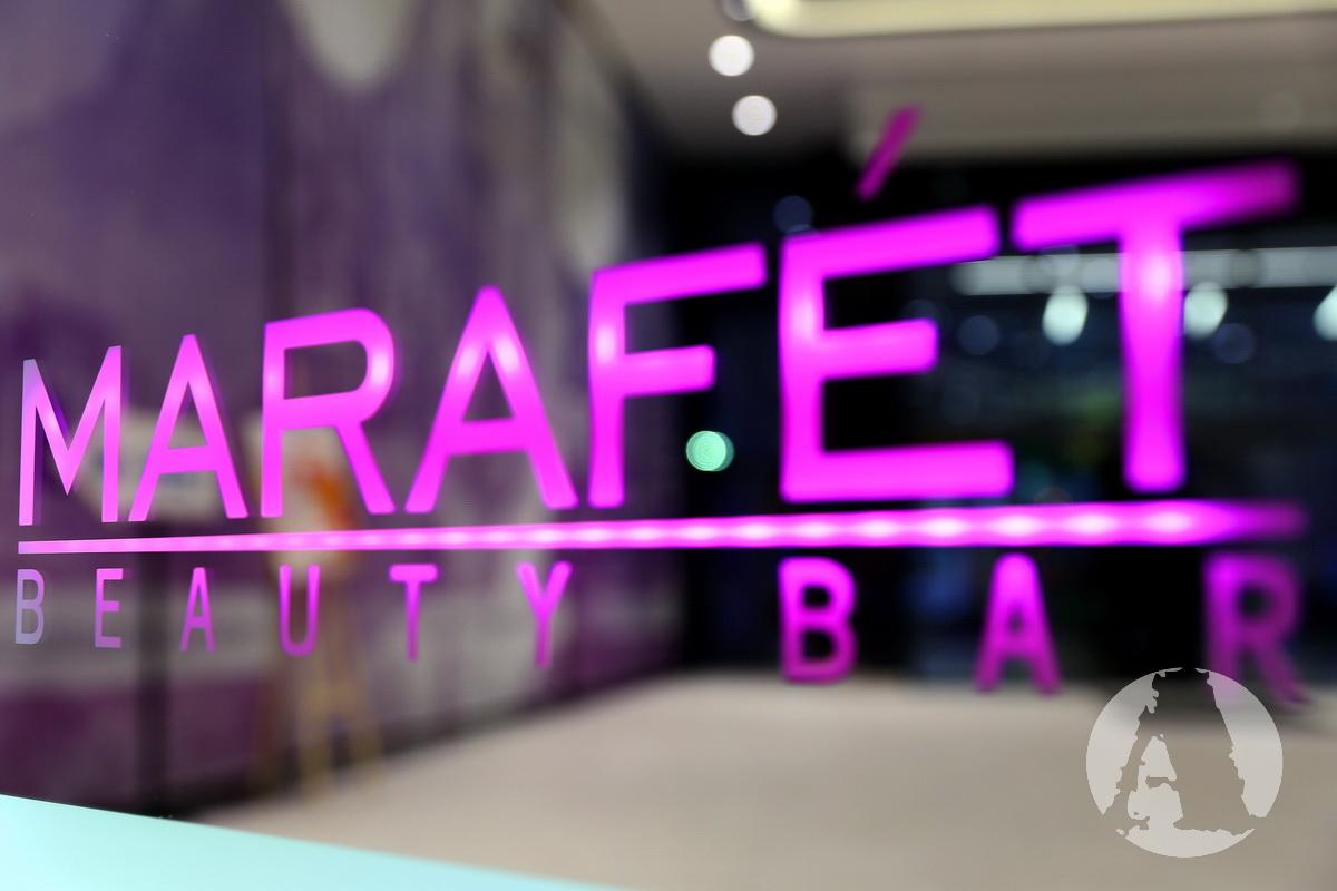 beauty bar marafet вывеска