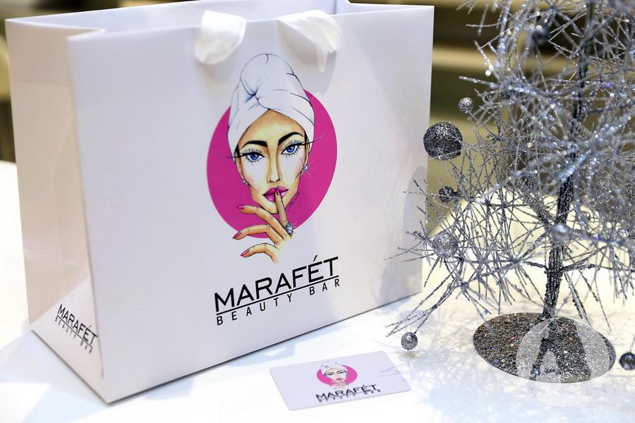 фирменный пакет marafet beauty bar