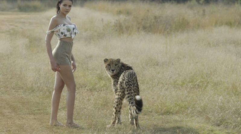 фото my ree с гепардом