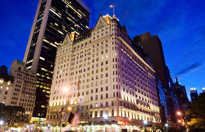 plaza hotel в нью-йорке, отель из фильма один дома