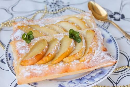 яблочные слойки фото