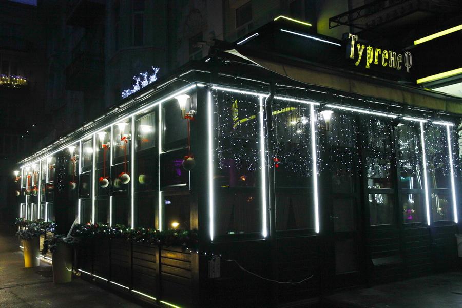 ресторан тургенеф в новогоднюю ночь фото