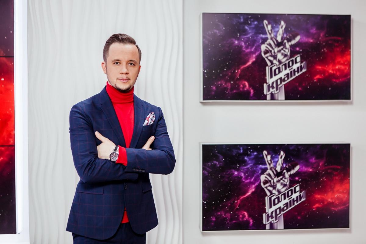 презентация «Голосу країни 8» Артем Гагарин фото
