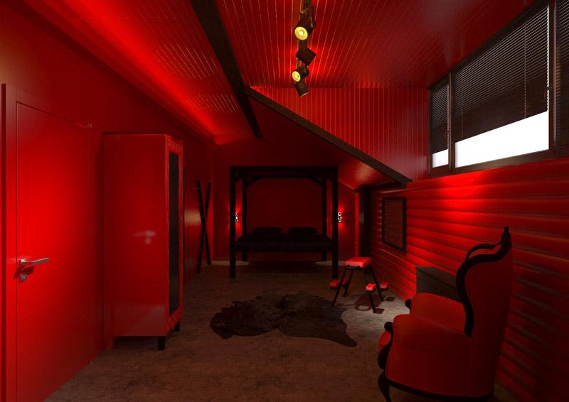 """фото комнаты в отеле """"Cherry Twins"""""""