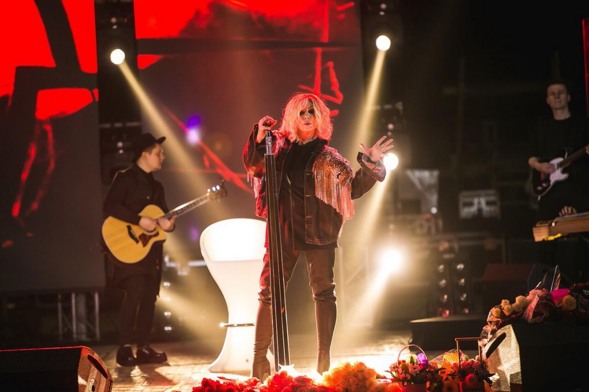 Ирина Билык фото концерт в Харькове