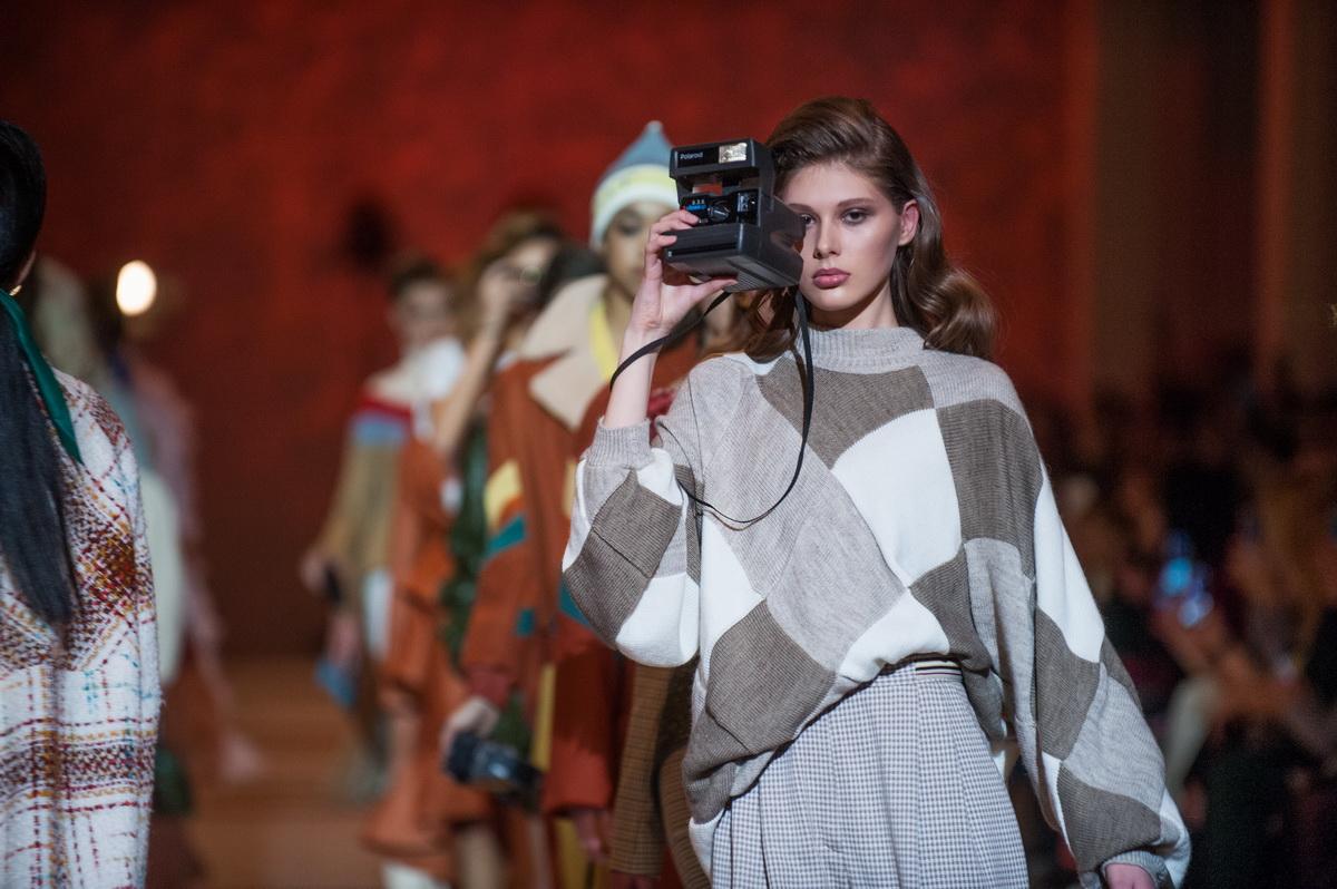 Показ коллекции Кати Сильченко на Украинской Неделе Моды 2018 фото с показа