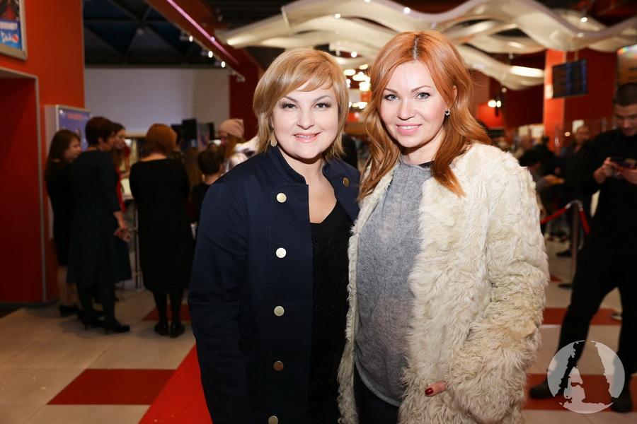 "Лилу и Мария Бурмака на премьере ""Грифко проти прибульців"" фото"