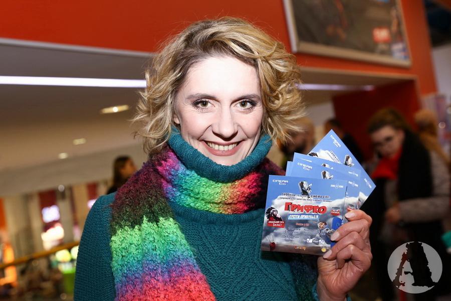 фото Екатерина Кистень на премьере в кинотеатре Синема Сити