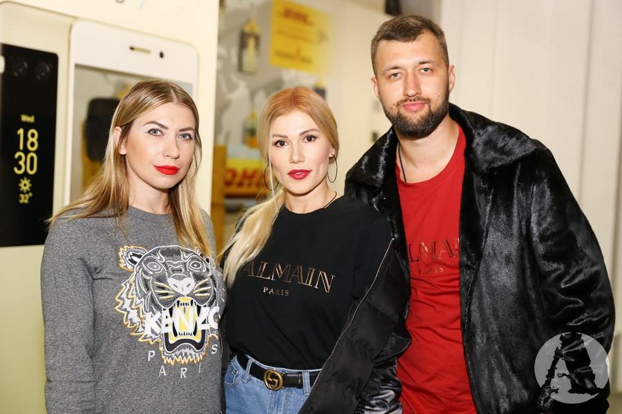 TamerlanAlena и Юла на Украинской Неделе Моды 2018 фото