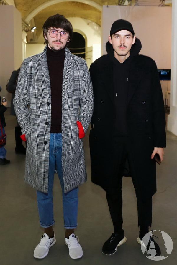 Руслан Багинский и Петр Ясинский на Украинской Неделе Моды фото
